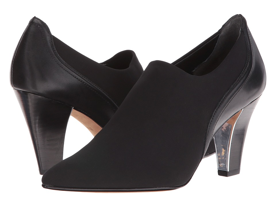 Donald J Pliner Tyra (Black Crepe) Women
