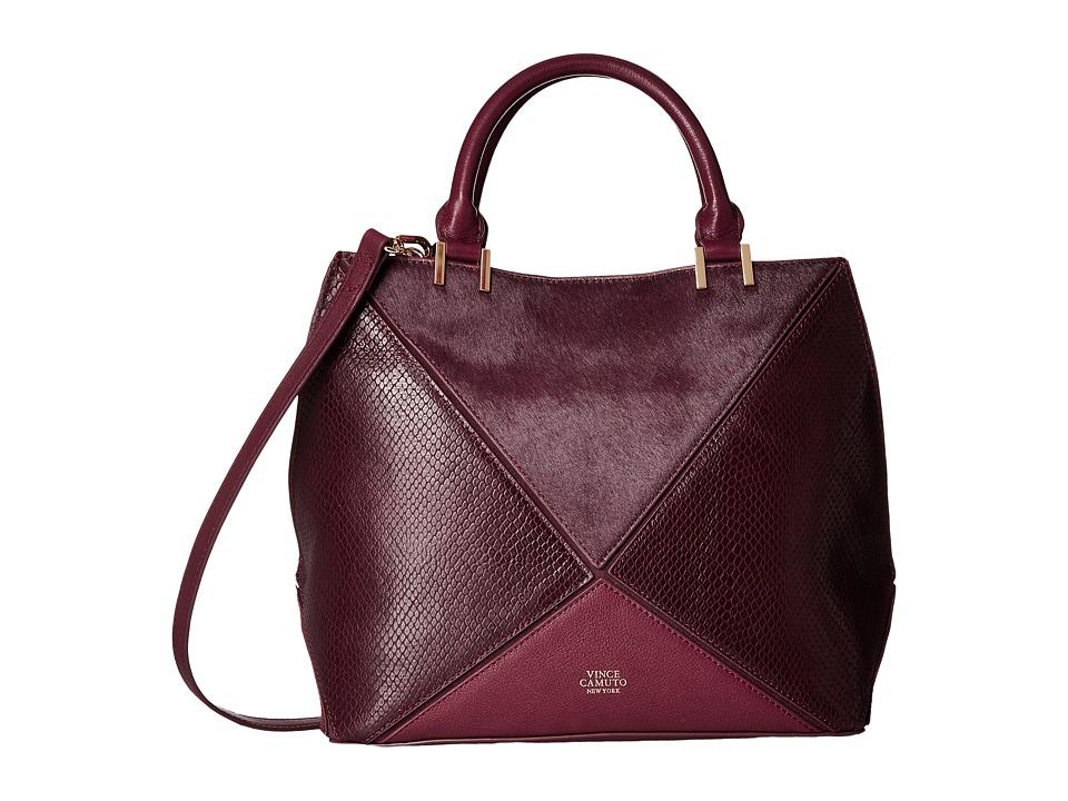 Vince Camuto - Akua Satchel (Plum) Satchel Handbags
