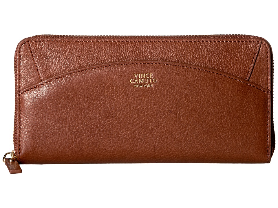 Vince Camuto - Kit Wallet (Cognac) Wallet Handbags