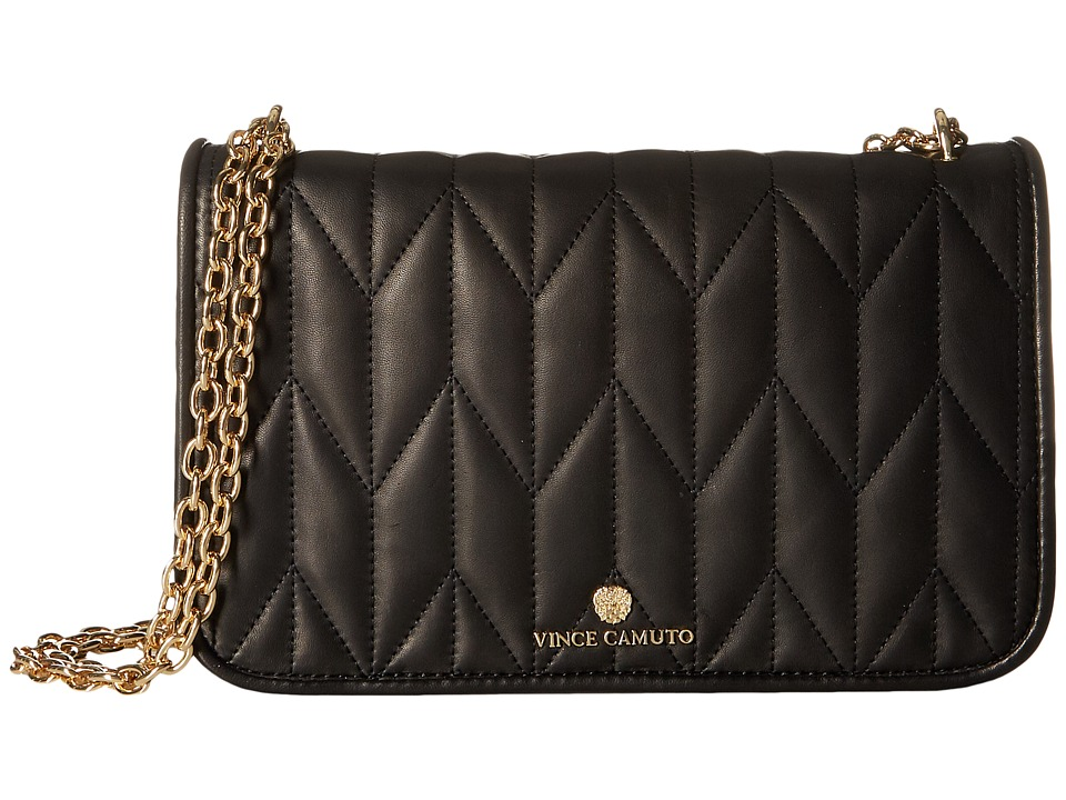 Vince Camuto - Klem Flap Bag (Black) Handbags