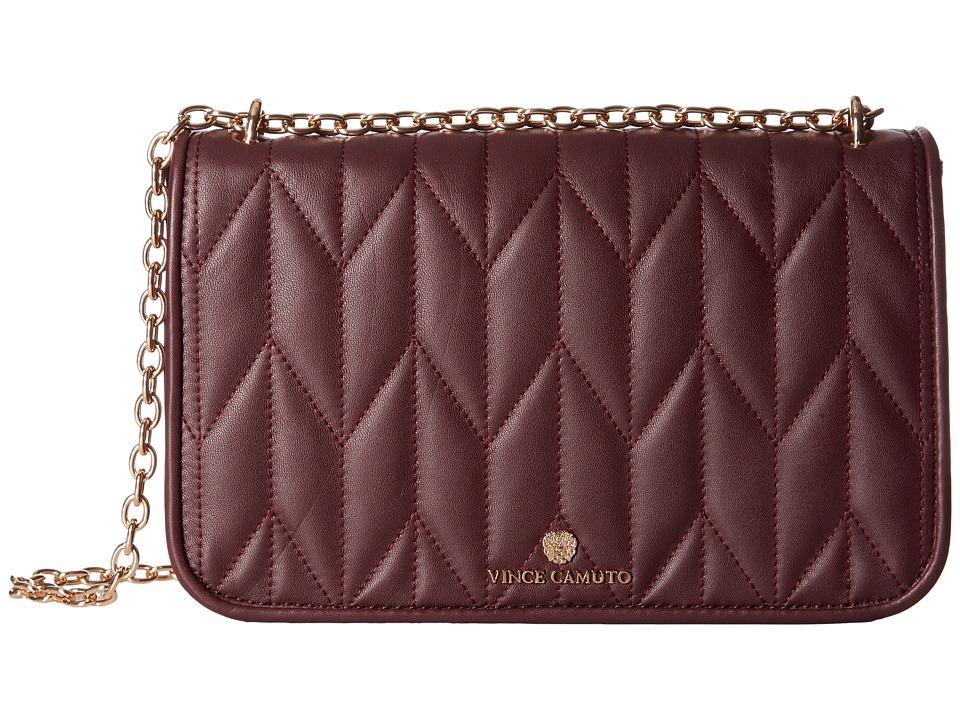 Vince Camuto - Klem Flap Bag (Plum) Handbags