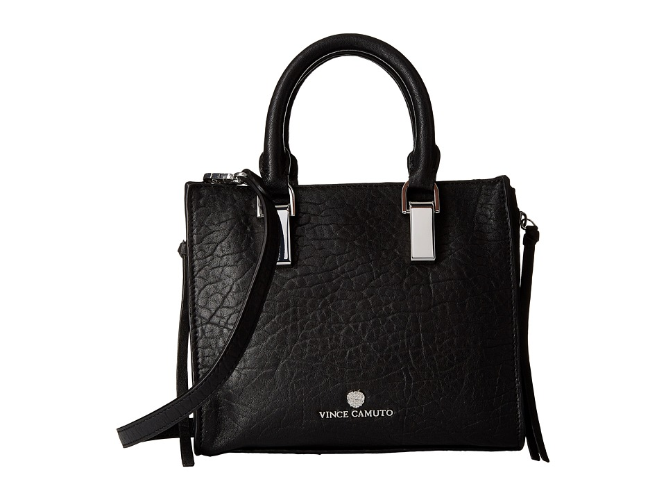 Vince Camuto - Riley Small Satchel (Nero) Satchel Handbags