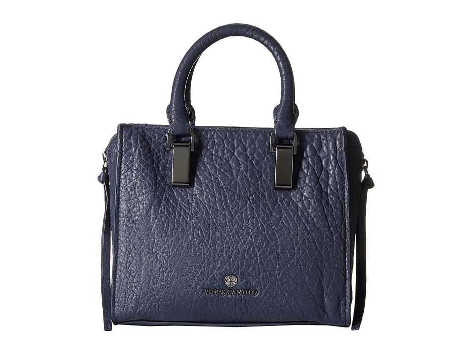 Vince Camuto - Riley Small Satchel (Peacoat) Satchel Handbags
