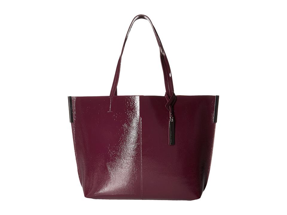 Vince Camuto - Wylie Tote (Plum/Nude) Tote Handbags
