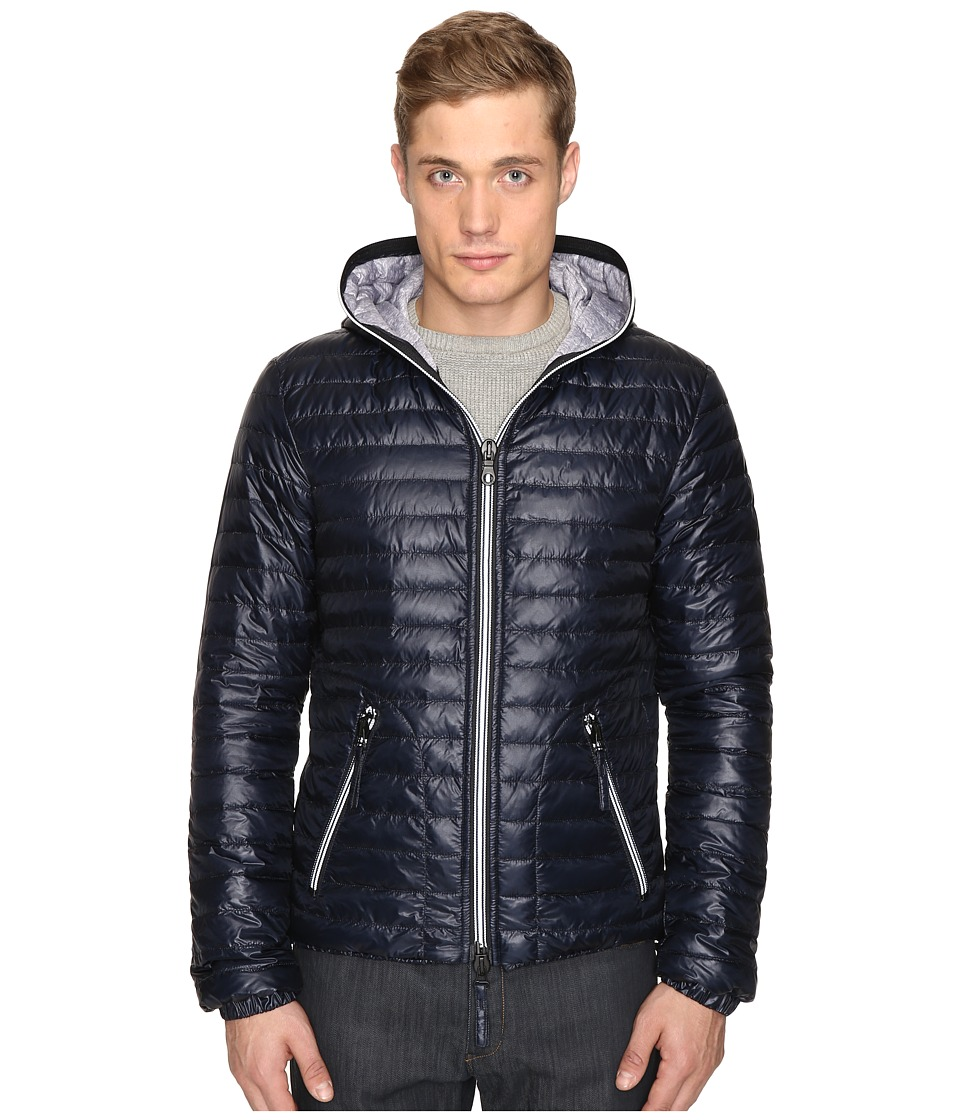DUVETICA - Acelo Lightweight Quilted Down Jacket (Blue Navy) Men's Coat
