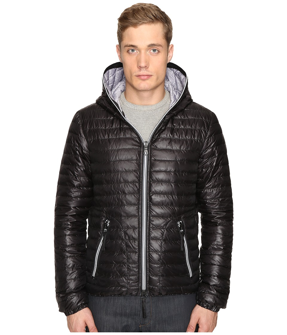 DUVETICA - Acelo Lightweight Quilted Down Jacket (Black) Men's Coat