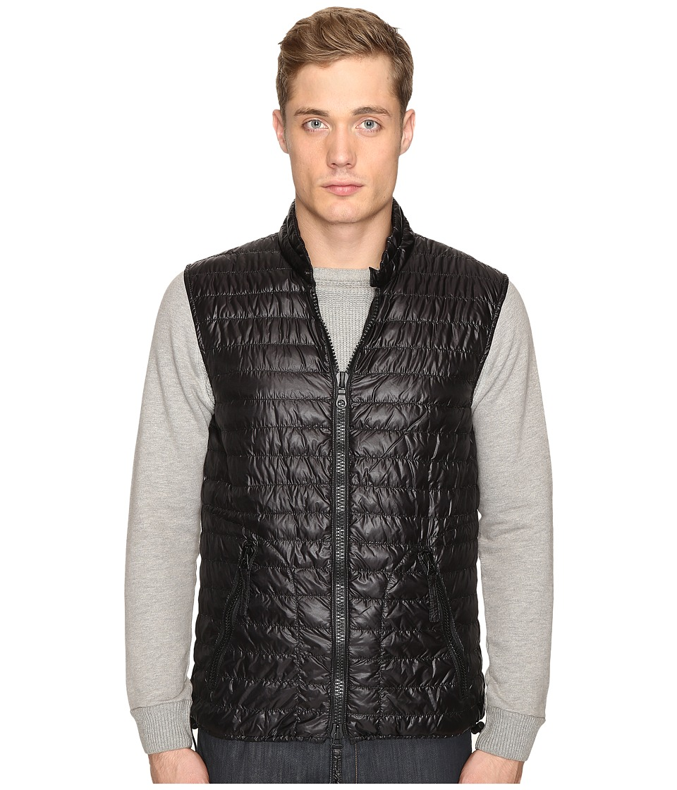 DUVETICA - Cario Quilted Down Vest (All Black) Men's Vest