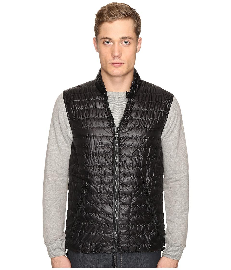 DUVETICA - Cario Quilted Down Vest (All Black) Men's Vest