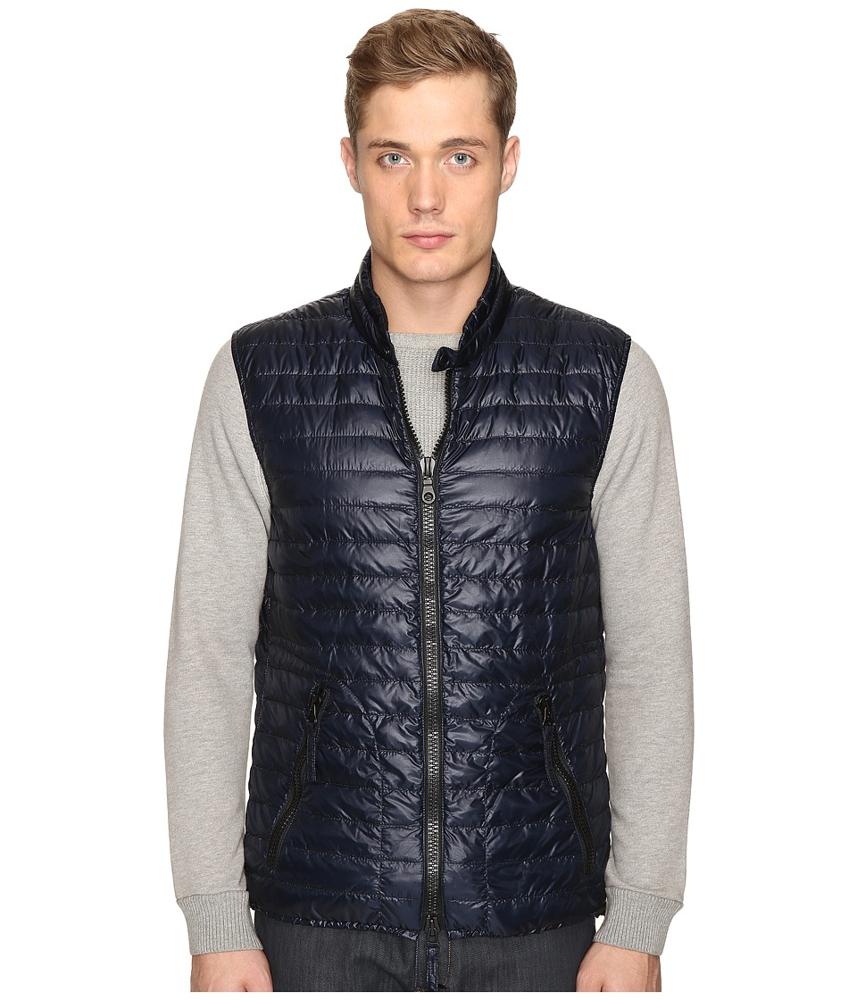 DUVETICA - Cario Quilted Down Vest (Blue Navy) Men's Vest