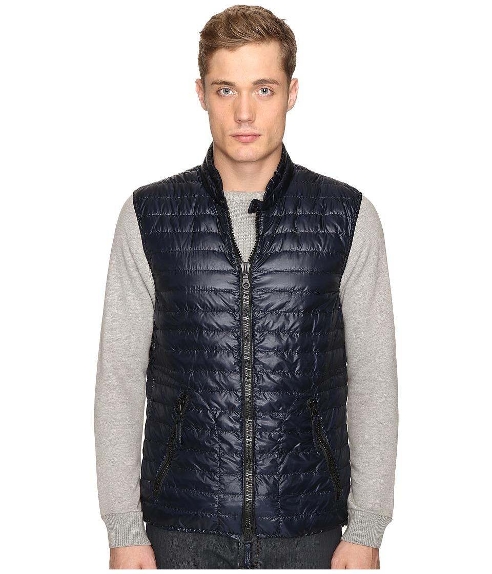DUVETICA - Cario Quilted Down Vest (Blue Navy) Men's Vest