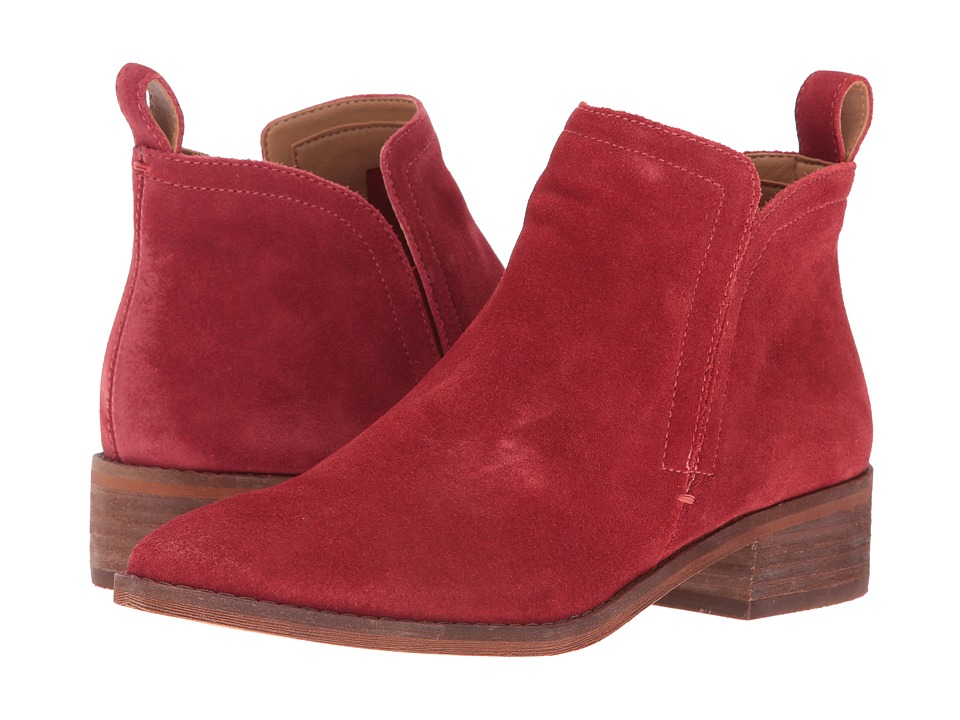 Dolce Vita - Tessey (Red Suede) Women's Shoes