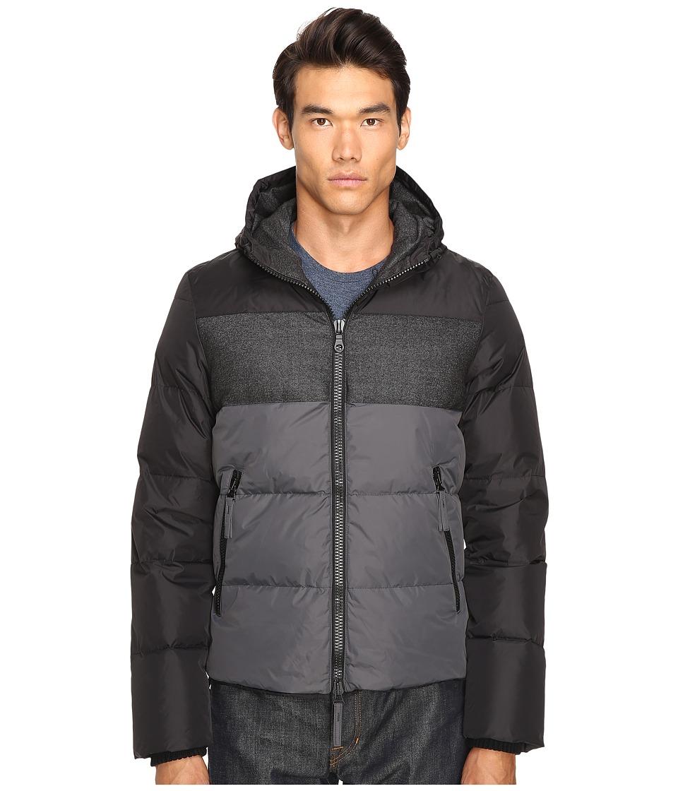 DUVETICA - Cadell Down Jacket (Nero) Men's Coat