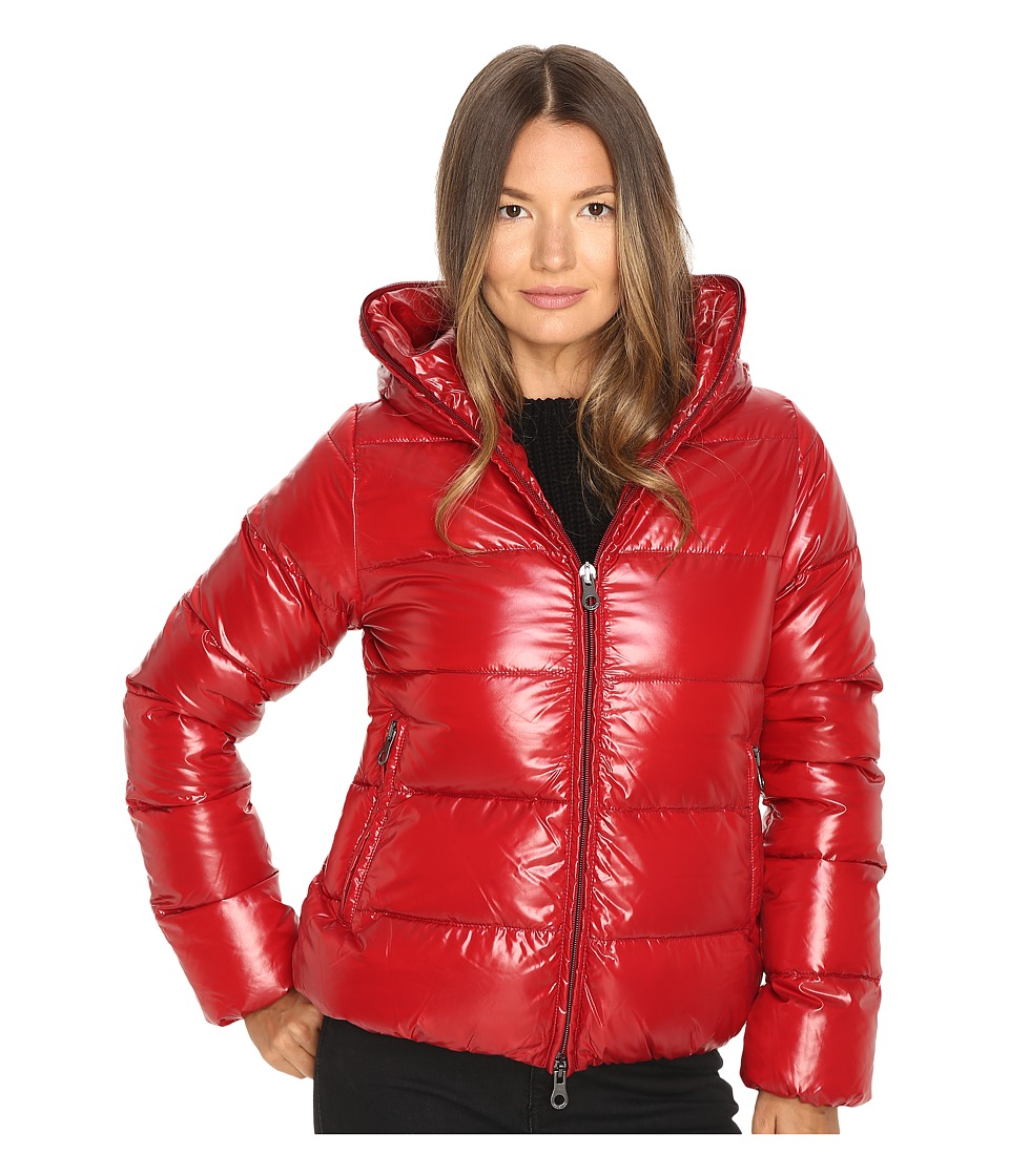 DUVETICA - Thiacinque Quilted Down Jacket (Rosso Gran) Women's Coat