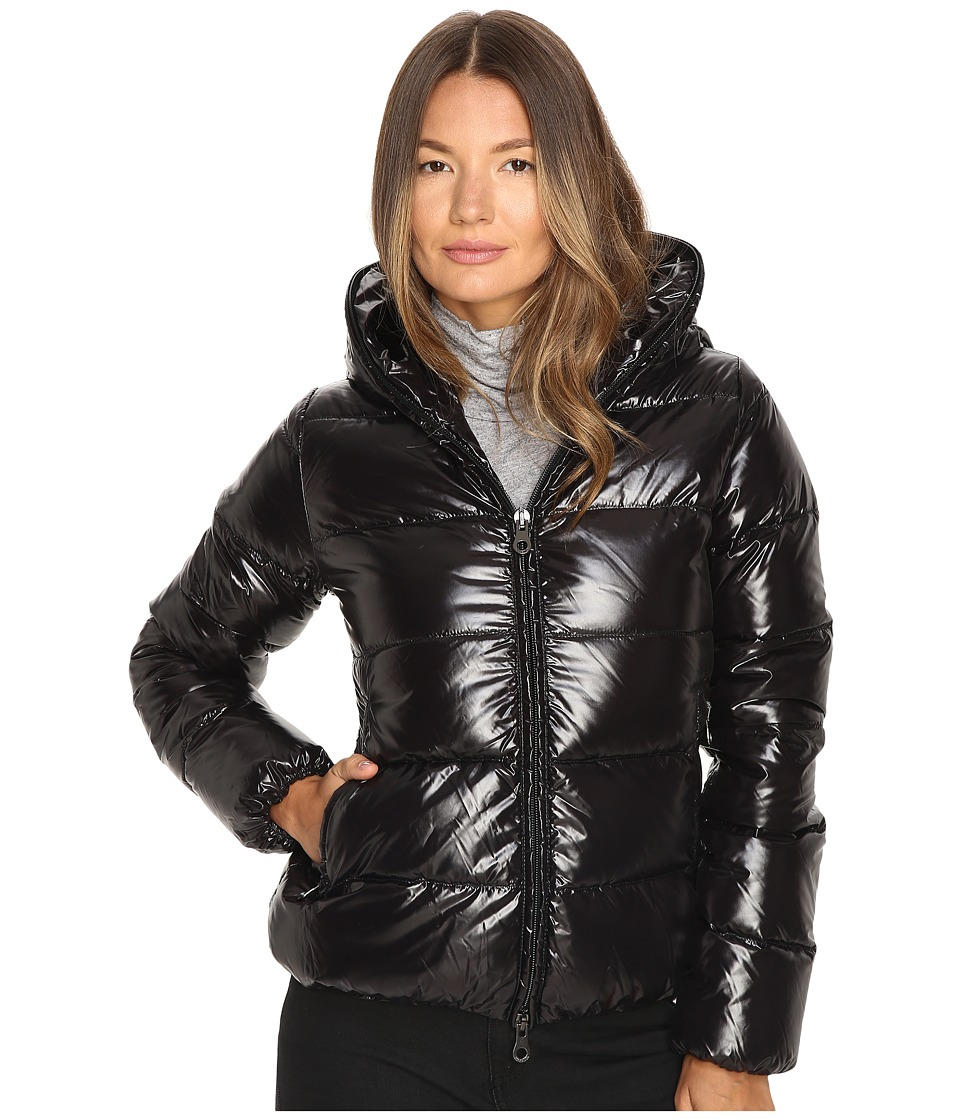 DUVETICA - Thiacinque Quilted Down Jacket (Nero) Women's Coat