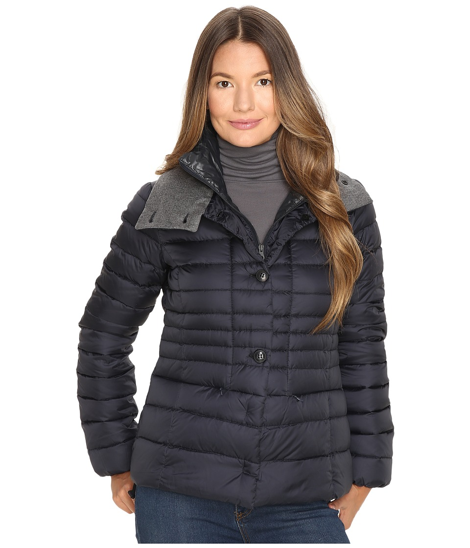 DUVETICA - Ainslee Quilted Down Jacket (Blue Navy) Women's Coat