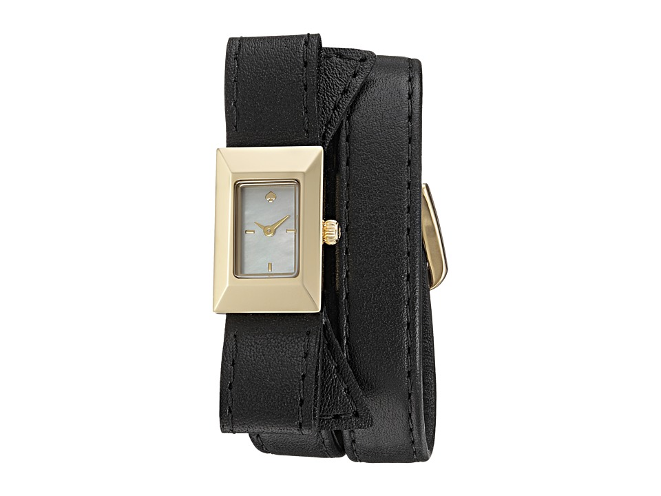Kate Spade New York - Kenmare Watch - KSW1178 (Black/Gold) Watches