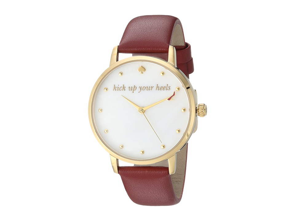 Kate Spade New York - Metro Watch - KSW1209 (Merlot/Gold) Watches