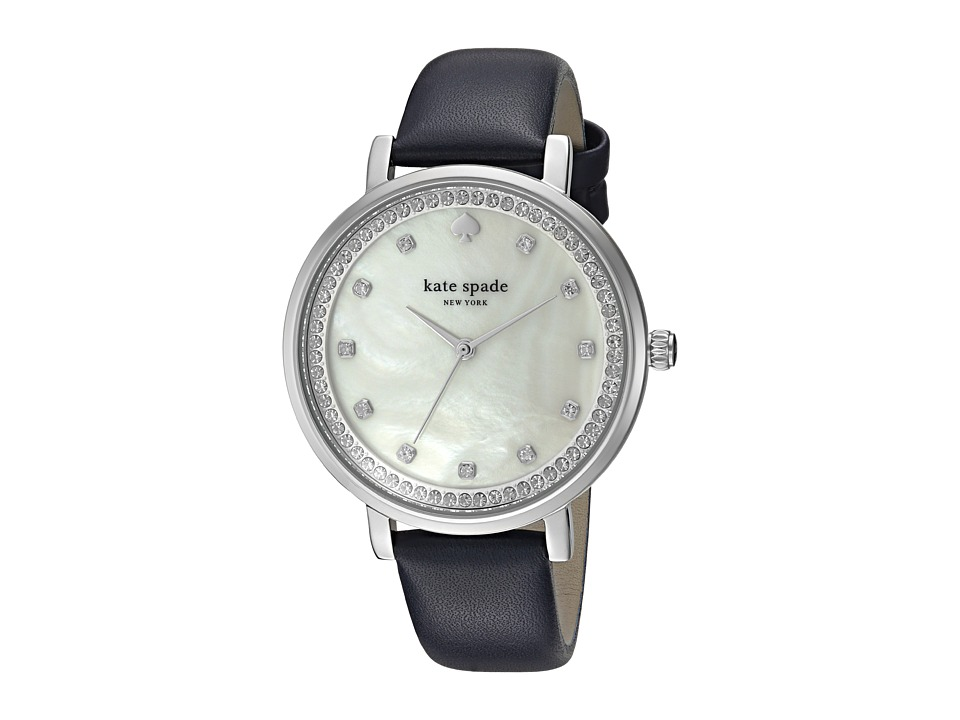Kate Spade New York - Monterey Watch - KSW1171 (Navy/Silver) Watches