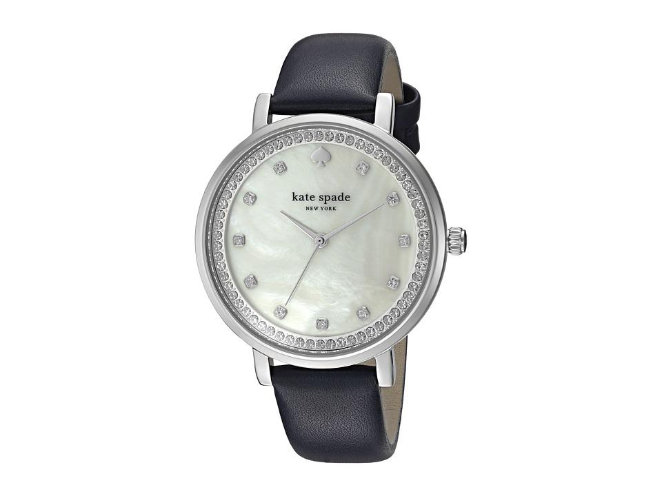 Kate Spade New York - Monterey Watch - KSW1171 (Navy/Silver) Watches