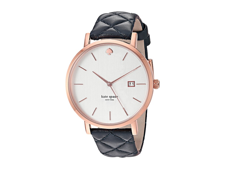 Kate Spade New York - Grand Metro Watch - KSW1160 (Navy/Rose Gold) Watches