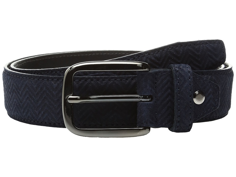 BUGATCHI - Verona (Blue) Men's Belts