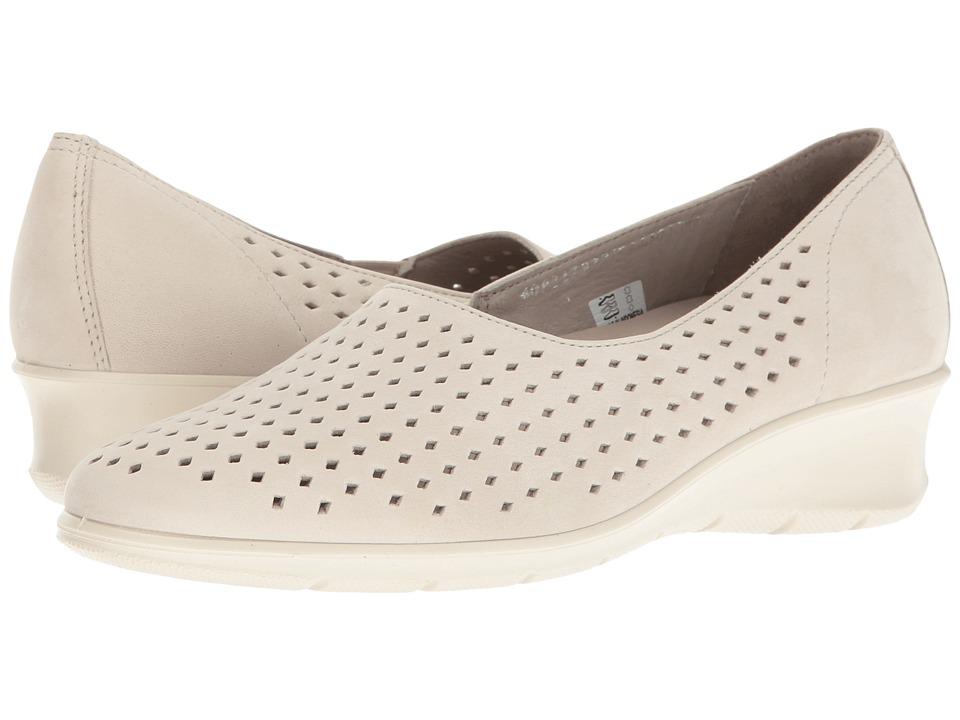 ECCO - Felicia Summer Slip-On (Gravel) Women's Slip on Shoes