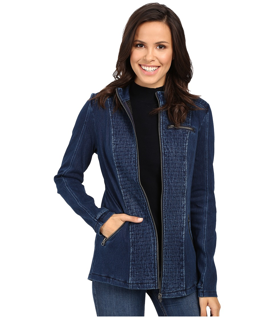Liverpool - Quilted Jacket (Dark Americana) Women's Coat