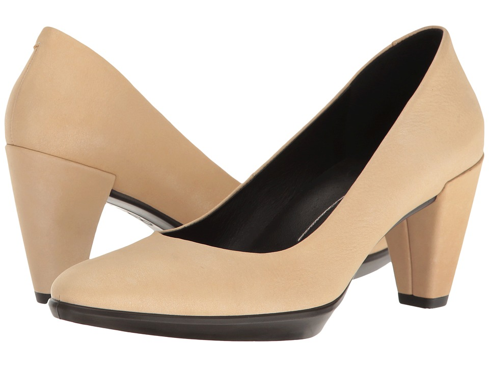ECCO - Shape 55 Plateau Pump (Powder) High Heels
