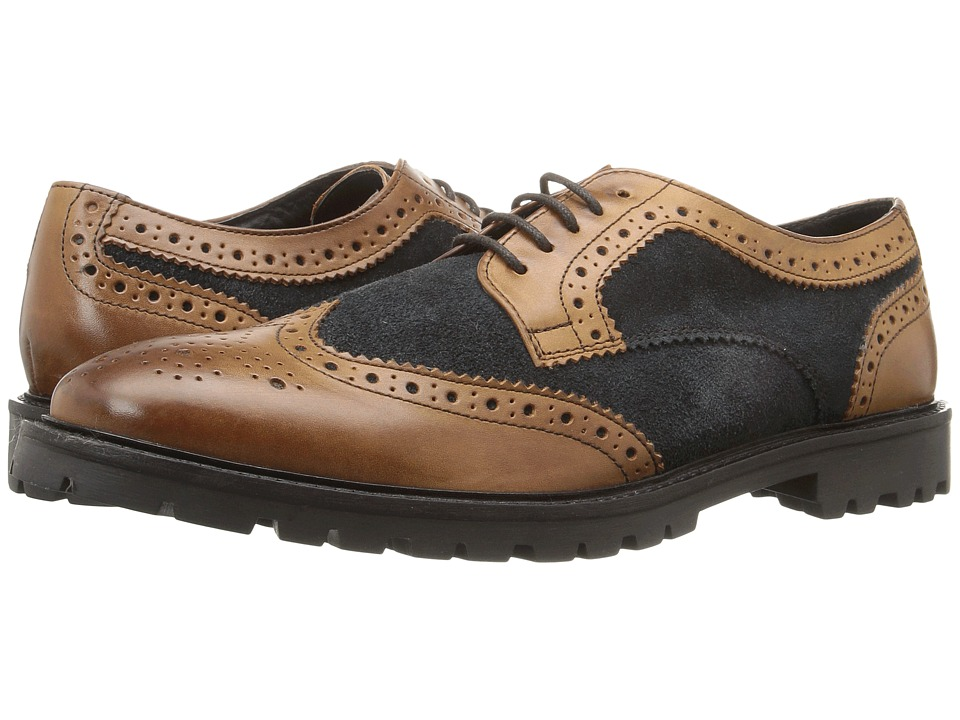 Base London - Conflict (Tan/Navy) Men's Shoes