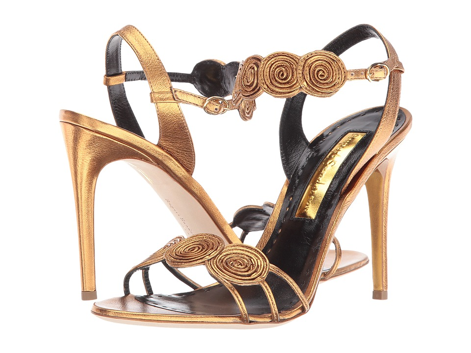 Rupert Sanderson - Rosetta (Bronze Nappa Laminate) High Heels
