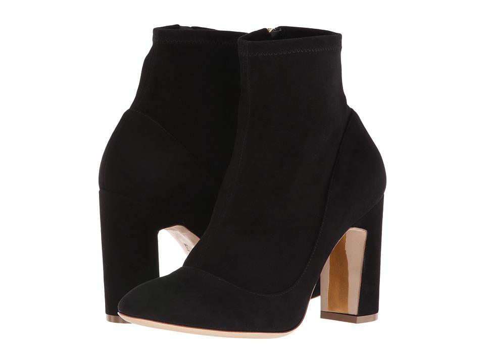 Rupert Sanderson - Metta (Black Suede) Women's Boots