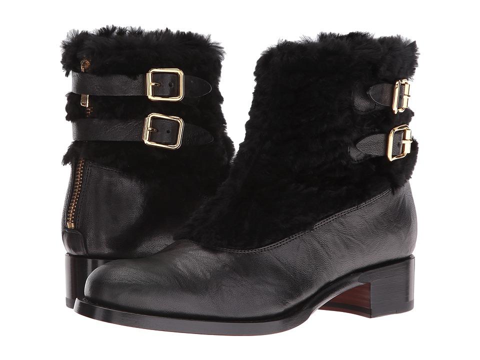Rupert Sanderson - Highland (Tusk/Astrakan Black) Women's Boots
