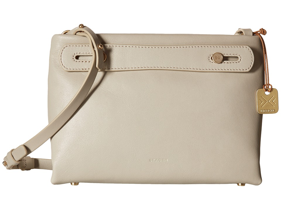 Skagen - Mini Mikkeline Satchel (Oatmeal) Satchel Handbags