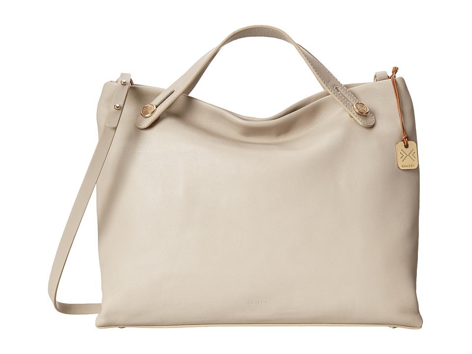 Skagen - Mikkeline Satchel (Oatmeal) Satchel Handbags