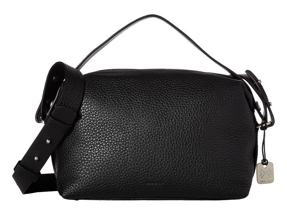 Skagen - Ronne Satchel (Black) Satchel Handbags
