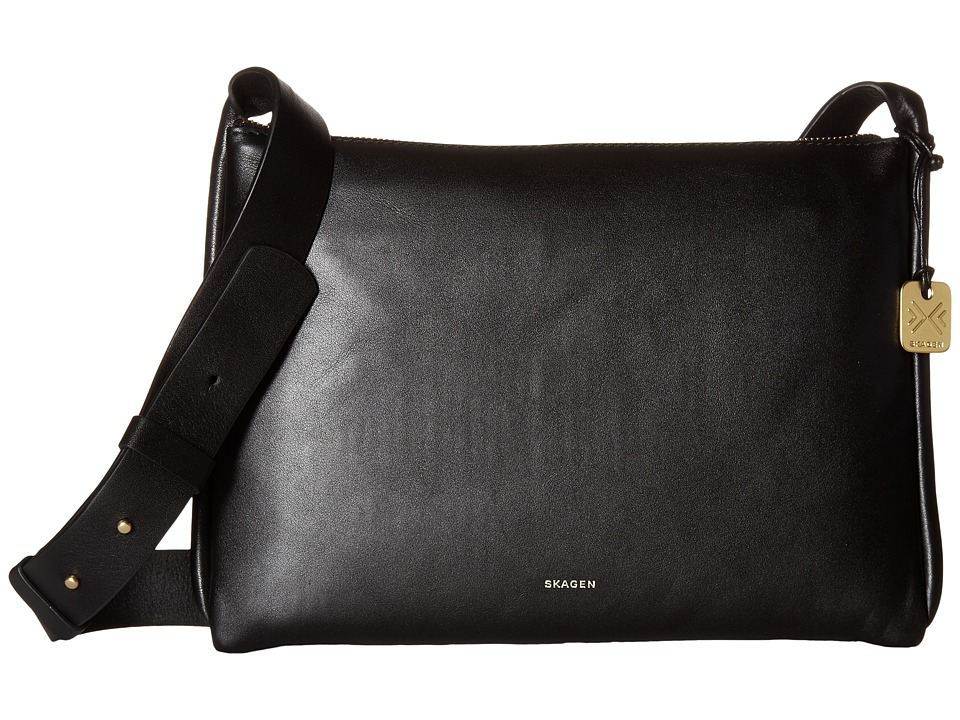 Skagen - Anesa Crossbody (Black) Cross Body Handbags