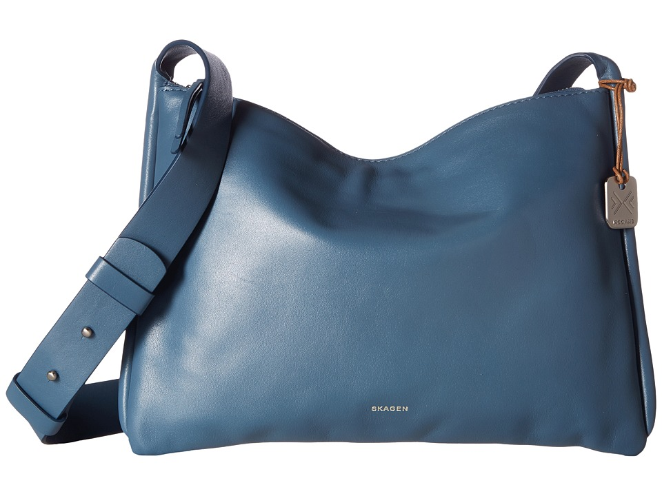 Skagen - Anesa Crossbody (Smokey Blue) Cross Body Handbags