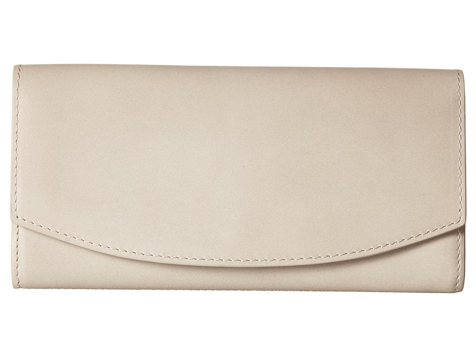 Skagen - Dinesen Flap Wallet (Oatmeal) Wallet Handbags