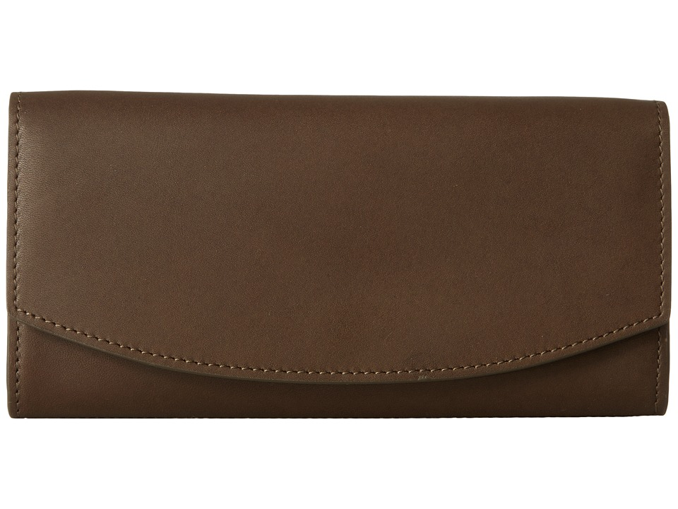Skagen - Dinesen Flap Wallet (Dark Green) Wallet Handbags