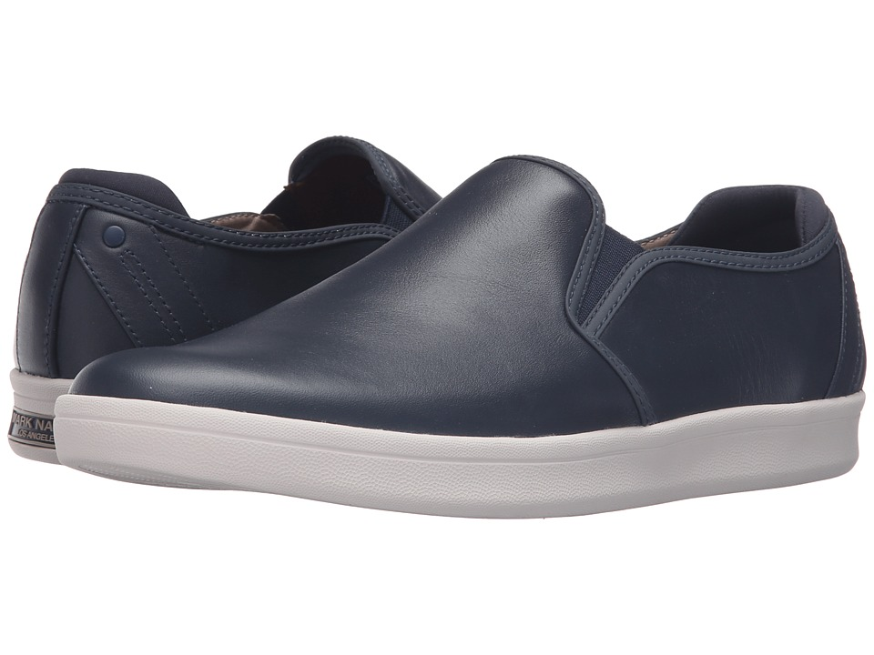 Mark Nason - Silwood (Navy Smooth Leather/White Bottom) Men's Shoes