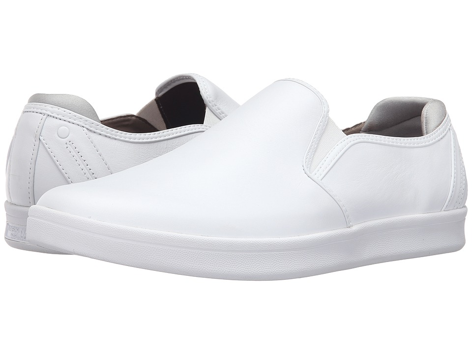 Mark Nason - Silwood (White Smooth Leather/White Bottom) Men's Shoes