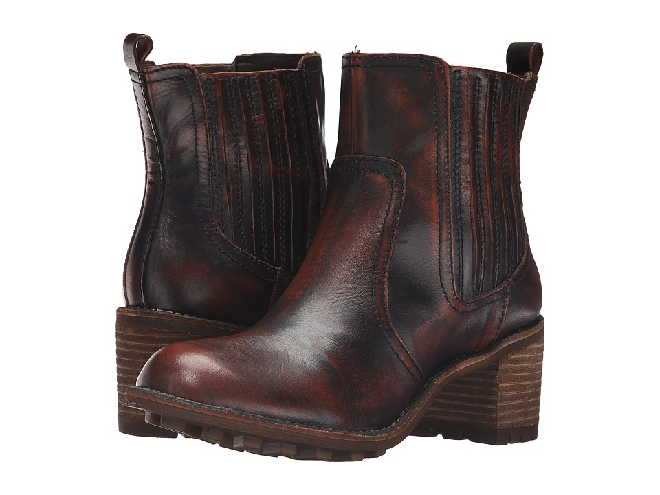 Rocket Dog - Eric (Chocolate Burnout Leather) Women's Boots