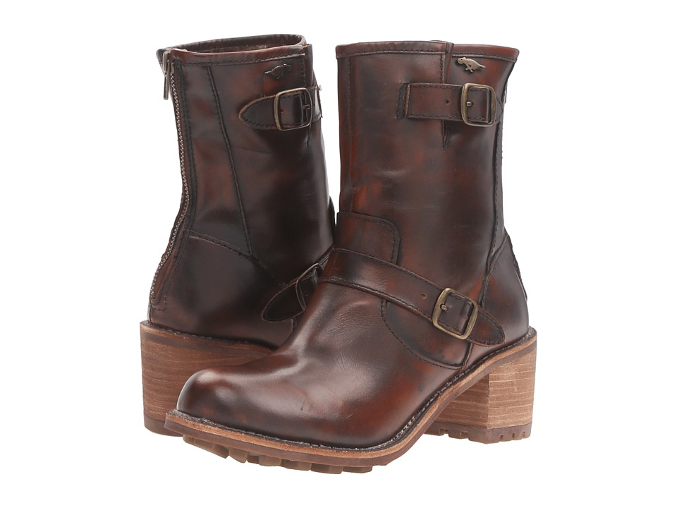Rocket Dog - Eddie (Chocolate Burnout Leather) Women