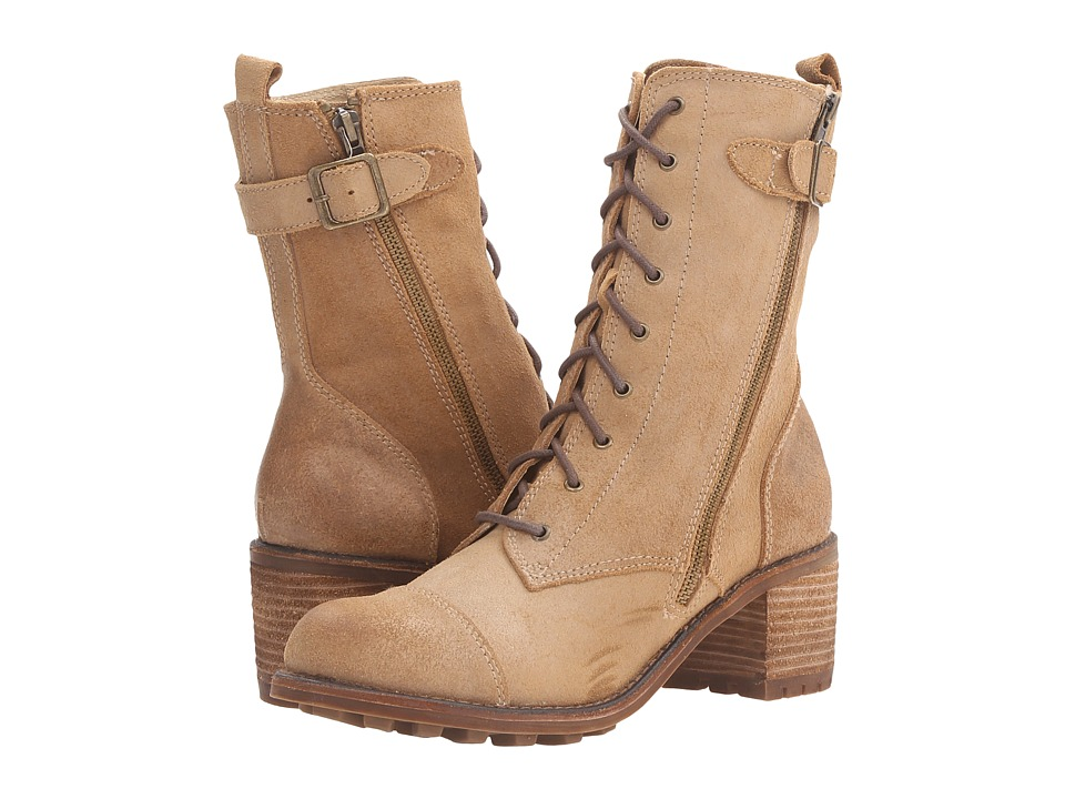 Rocket Dog - Ireland (Tan Buffed Leather) Women's Lace-up Boots