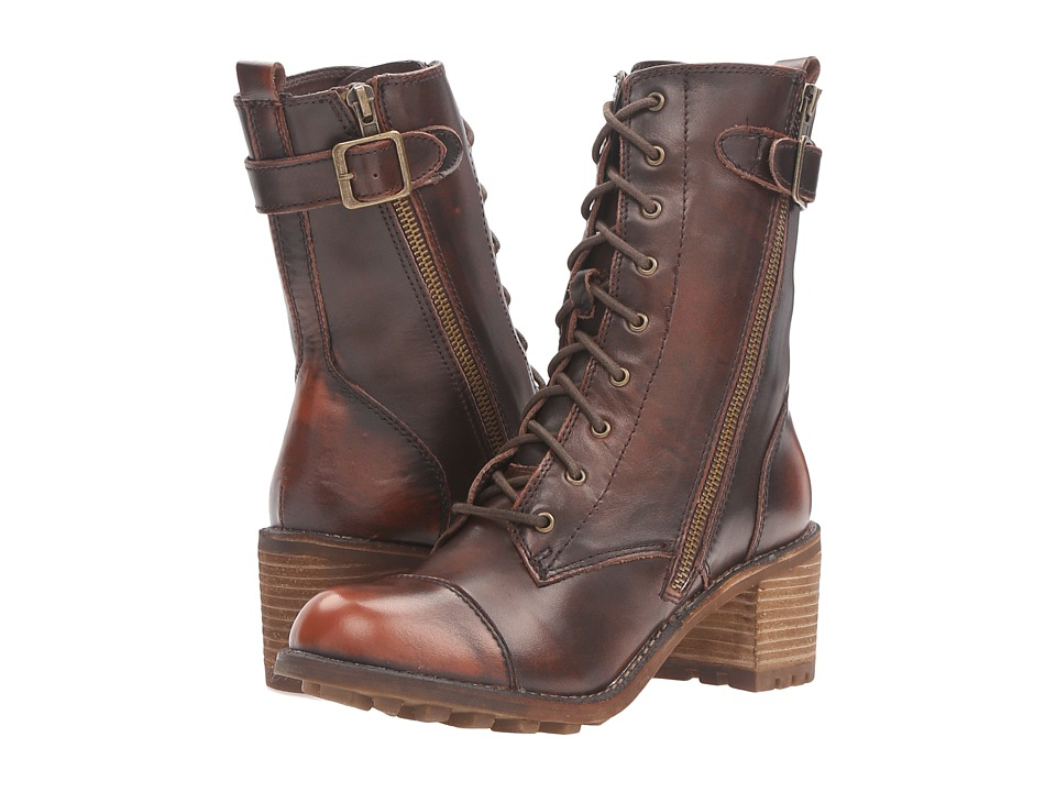 Rocket Dog - Ireland (Chocolate Burnout Leather) Women's Lace-up Boots