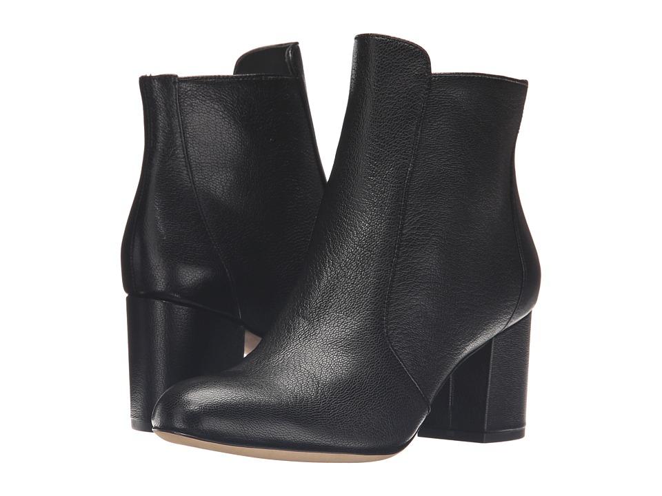 Diane von Furstenberg - Lari (Black Leather) Women's Shoes