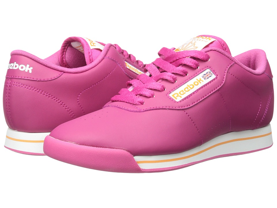 Reebok - Princess (Condor Pink/White/Maximum Orange) Women's Running Shoes