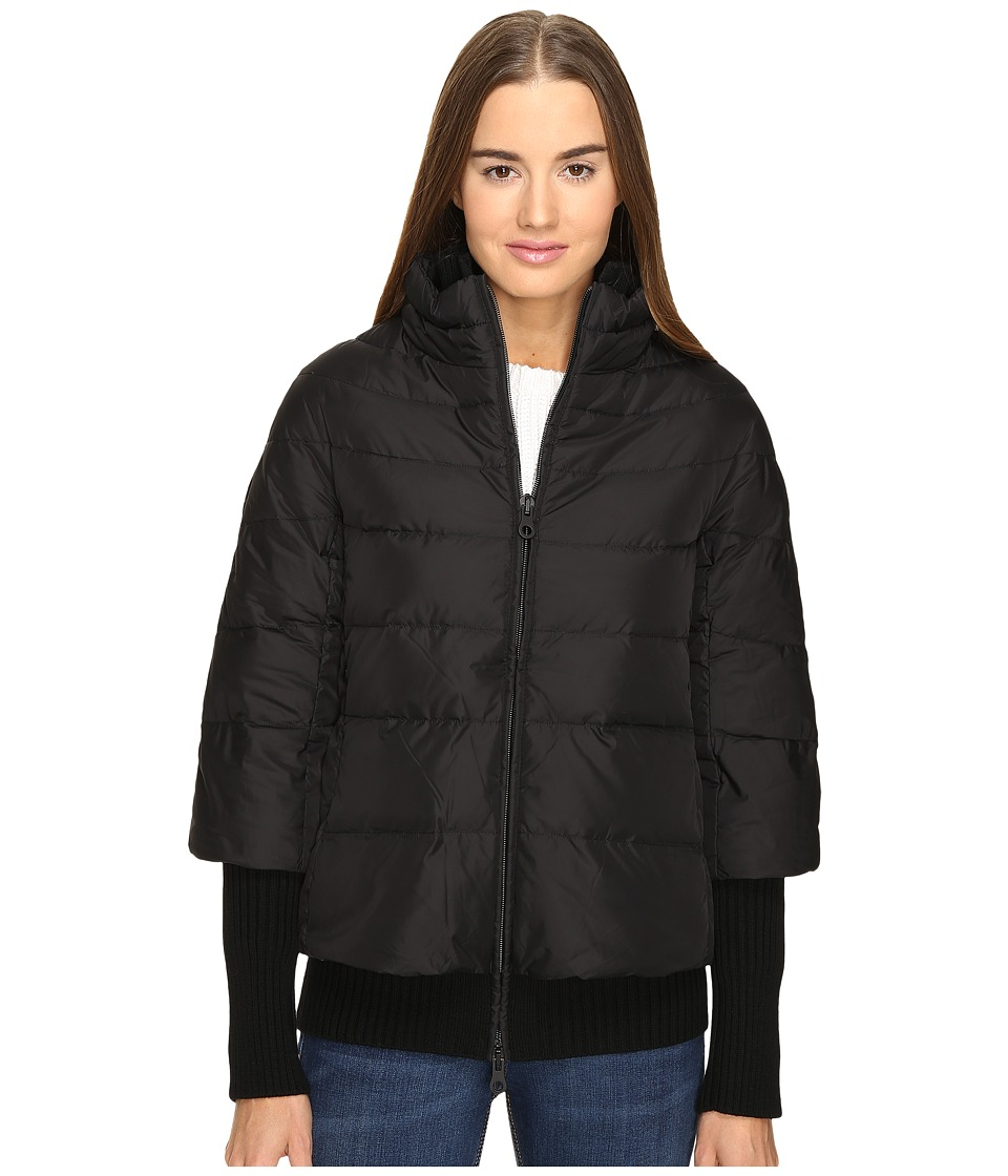 DUVETICA - Kathleen Sweater Jacket (All Black) Women's Coat