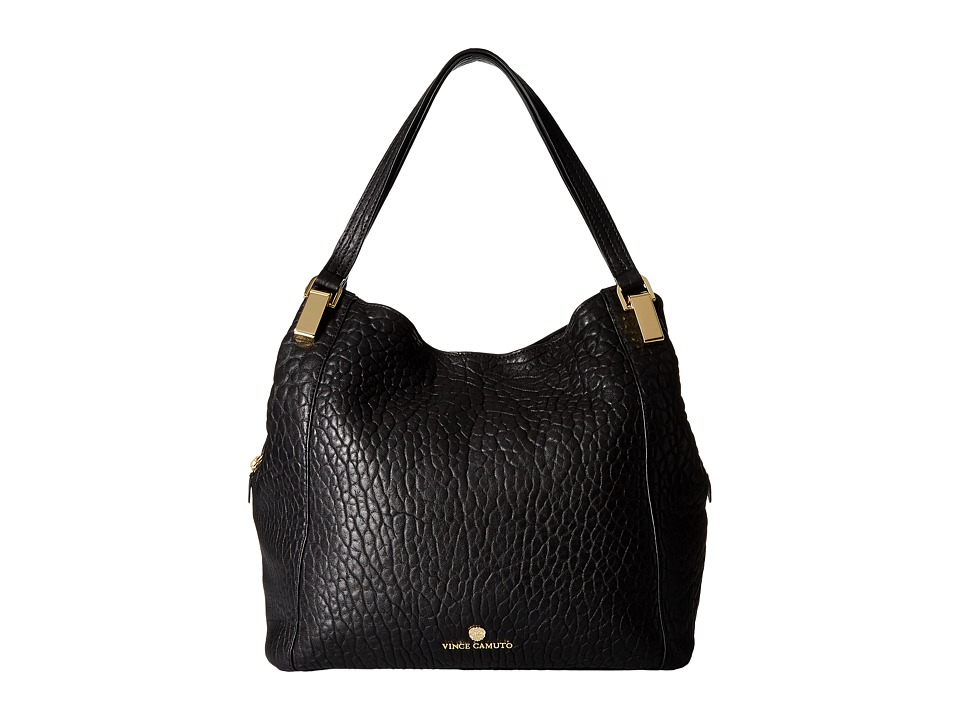 Vince Camuto - Riley Medium Tote (Black) Tote Handbags