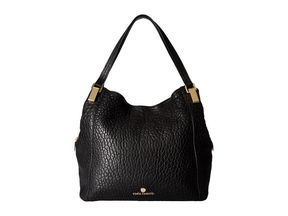 Vince Camuto - Riley Medium Tote (Black) Tote Handbags